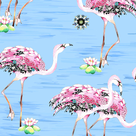 FANCY FLAMINGOS
